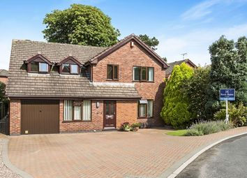 Thumbnail 4 bed detached house for sale in Walnut Rise, Congleton