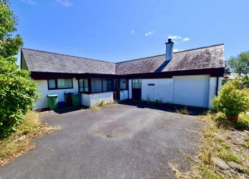 Thumbnail 2 bed detached bungalow for sale in Gorseddfa, Criccieth