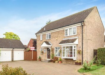 Thumbnail 4 bed detached house for sale in Sandwich Close, St. Ives, Huntingdon