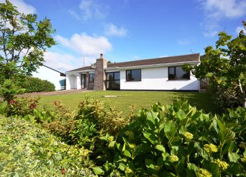 Thumbnail 4 bed detached bungalow for sale in Little Castle Grove, Herbrandston, Milford Haven