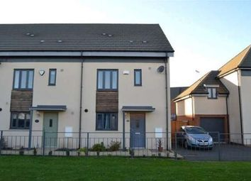 Thumbnail 3 bed end terrace house to rent in Four Chimenys Crescent, Peterborough