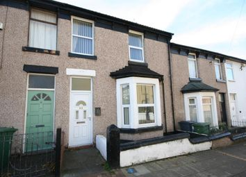 Thumbnail 3 bed terraced house for sale in Belmont Road, Wallasey