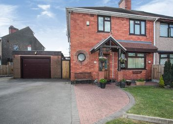 Thumbnail 4 bed semi-detached house for sale in Shakespeare Avenue, Bedworth, Warwickshire