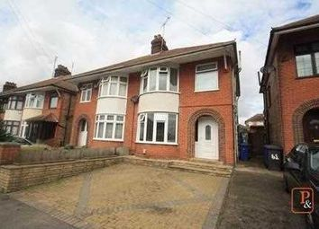 Thumbnail 4 bed semi-detached house for sale in Ashcroft Road, Ipswich