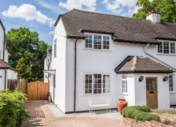Thumbnail 4 bed semi-detached house for sale in Rythe Road, Claygate, Esher