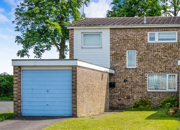 Thumbnail 3 bedroom end terrace house for sale in Normanhurst Close, Lowestoft