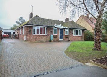Thumbnail 3 bed detached bungalow for sale in Broadgate Lane, Deeping St. James, Peterborough