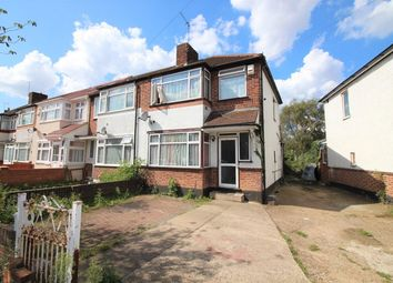 Thumbnail 3 bed semi-detached house for sale in Hadley Gardens, Norwood Green