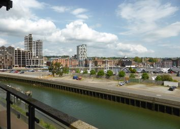 Thumbnail 2 bed flat to rent in Stoke Quay, Ipswich