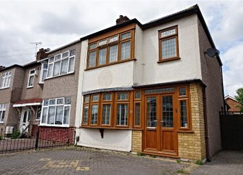 Thumbnail 3 bed end terrace house for sale in Gainsborough Road, South Hornchurch