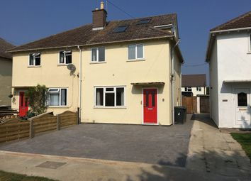 Thumbnail 3 bed semi-detached house to rent in Colville Road, Cherry Hinton, Cambridge