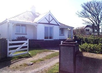 Thumbnail 3 bedroom bungalow for sale in Lon Swnt, Moelfre, Anglesey, North Wales