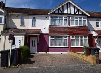 Thumbnail 4 bed terraced house to rent in Geneva Gardens, Chadwell Heath, Romford