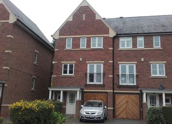 Thumbnail 4 bed town house to rent in Scholars Walk, Leicester