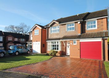 Thumbnail 4 bed detached house for sale in Winthorpe Drive, Solihull