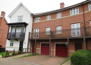 Thumbnail 4 bedroom town house for sale in Wyatt Crescent, Lower Earley, Reading