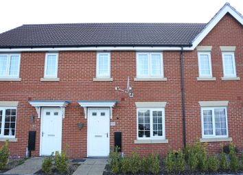 Thumbnail 3 bed terraced house for sale in Burrows Close, Grantham