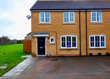 Thumbnail 3 bed semi-detached house for sale in Snowberry Close, Hasland, Chesterfield