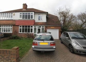 Thumbnail 4 bed semi-detached house for sale in Church Road, Worcester Park