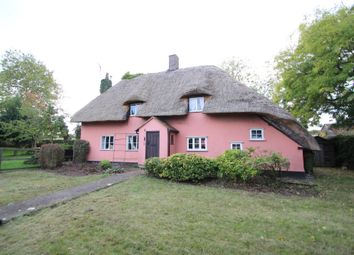 Thumbnail 3 bed cottage for sale in Fen Street, Buxhall, Stowmarket