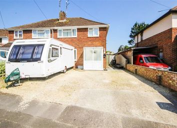 Thumbnail 3 bedroom semi-detached house for sale in Masefield Avenue, Swindon, Wilts