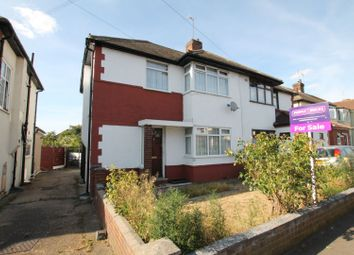 Thumbnail 3 bed semi-detached house for sale in Eyhurst Avenue, Hornchurch