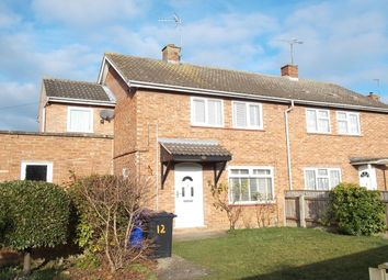Thumbnail 3 bedroom semi-detached house for sale in Bahram Close, Newmarket