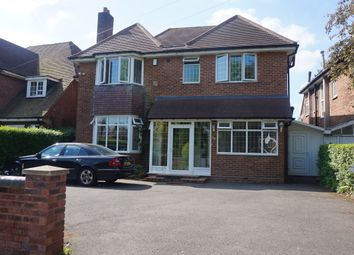 Thumbnail 4 bed detached house for sale in Vernon Avenue, Handsworth Wood, Birmingham