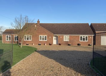 Thumbnail 4 bed detached bungalow for sale in Flint House Road, Threeholes, Wisbech