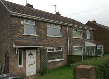 Thumbnail 3 bed semi-detached house to rent in Hesley Road, New Rossington, Doncaster