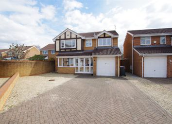 Thumbnail 4 bed detached house for sale in Briar Fields, Swindon