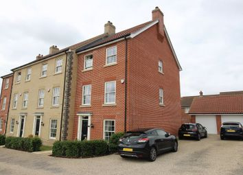 Thumbnail 5 bed terraced house for sale in Lord Nelson Drive, New Costessey, Norwich
