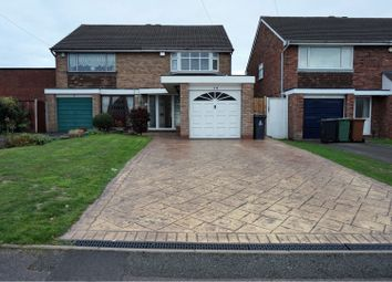 Thumbnail 3 bed semi-detached house for sale in Stourmore Close, Willenhall
