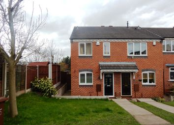Thumbnail 2 bed semi-detached house for sale in Hodson Way, Heath Hayes
