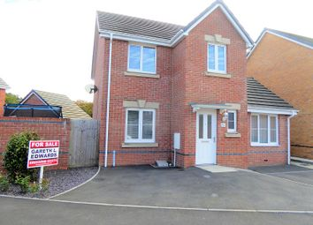 Thumbnail 3 bed detached house for sale in Clos Pwll Clai, Tondu, Bridgend.