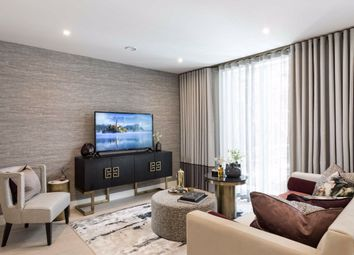 Thumbnail 2 bed flat for sale in Sinclair Road, The Atelier, Sinclair Road