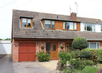 Thumbnail Semi-detached house for sale in West View, Creech St Michael, Somerset
