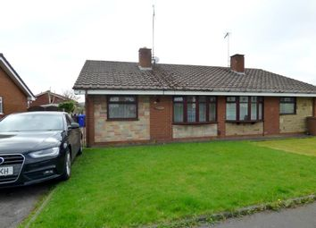Thumbnail 2 bed semi-detached bungalow for sale in Kemnay Avenue, Stoke-On-Trent