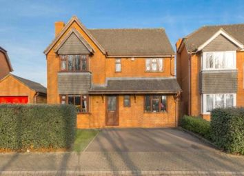 Thumbnail 4 bed detached house for sale in Bickleigh Crescent, Furzton, Milton Keynes, Buckinghamshire