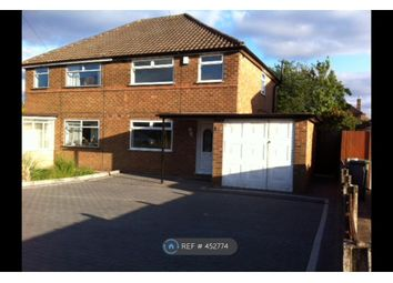 Thumbnail 3 bed semi-detached house to rent in Wyckham Rd, Birmingham