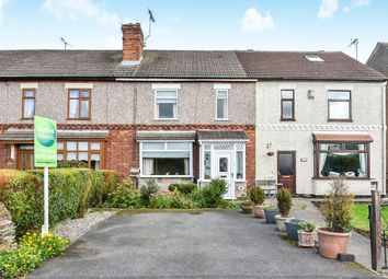 Thumbnail 2 bed terraced house for sale in Wessington Lane, South Wingfield, Alfreton