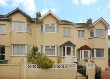 Thumbnail 4 bed terraced house for sale in Dower Road, Torquay