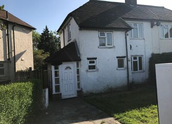 Thumbnail 3 bed semi-detached house to rent in Waddon Way, Croydon