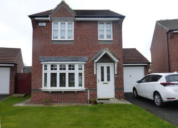 Thumbnail 3 bed detached house to rent in Meadowgate Drive, Hartlepool