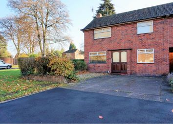 Thumbnail 3 bed end terrace house for sale in Woodhouse Road North, Tettenhall, Wolverhampton