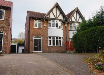 Thumbnail 3 bed semi-detached house for sale in Chaddesden Lane, Derby