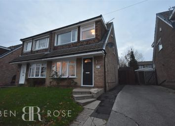 Thumbnail 3 bed property for sale in Mendip Road, Clayton-Le-Woods, Chorley