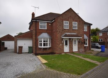 Thumbnail 3 bed semi-detached house for sale in Parklands, Beeford, Driffield