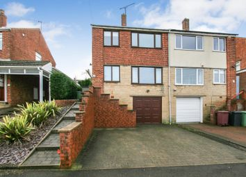 Thumbnail 3 bed semi-detached house for sale in Shakespeare Crescent, Dronfield, Derbyshire