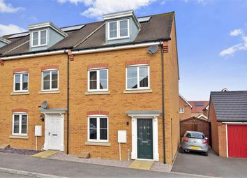 Thumbnail 3 bedroom town house for sale in Buttercup Avenue, Minster On Sea, Sheerness, Kent